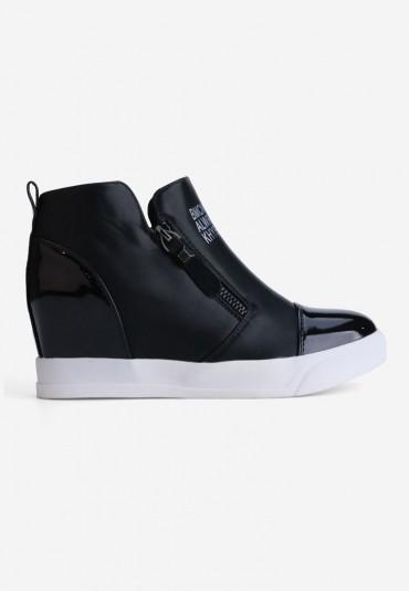 Sneakersy czarne 1 Pauline