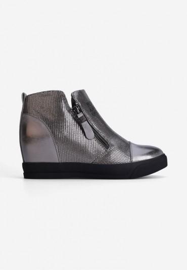 Sneakersy ciemno szare10 Théophile