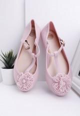Balerinki-meliski różowe Boni