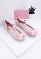 Balerinki -meliski różowe Ferri