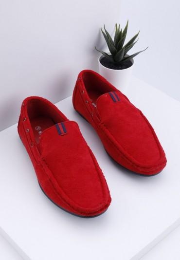 Mokasyny czerwone 3 Ninon