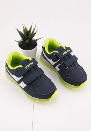 Buty sportowe granatowo zielone 1 Idi