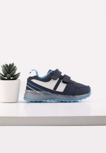 Buty sportowe granatowo niebieskie 2 Idi