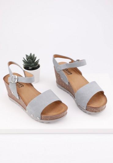 Sandały szare 4 Kanu