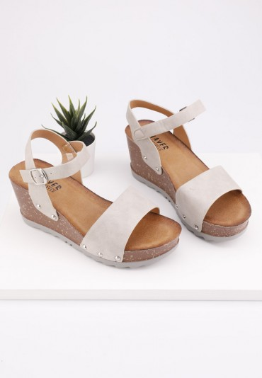 Sandały beżowe 5 Kanu