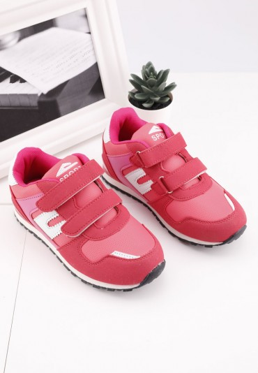 Buty sportowe różowe 2 Aashita