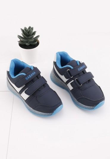 Buty sportowe garanatowo niebieskie 2 Sem