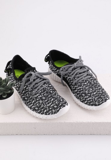 Buty sportowe czarno białe 4 Pew