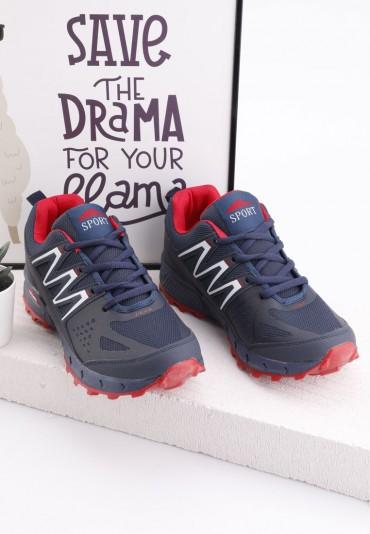 Buty sportowe granatowo czerwone 3 Ifor