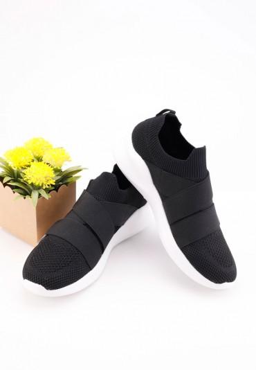 Buty sportowe czarne z białym 3  Éloi