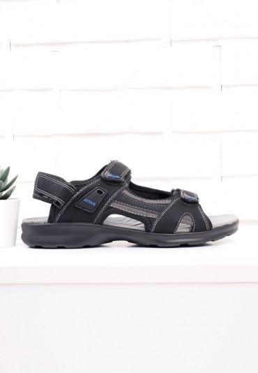 Sandały czarno niebieskie 4 Gowon