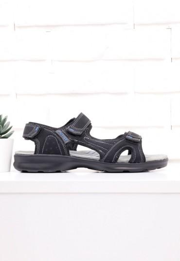 Sandały czarno niebieskie 2 Sefu