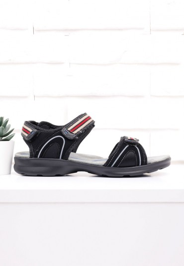 Sandały czarne 1 Ricci