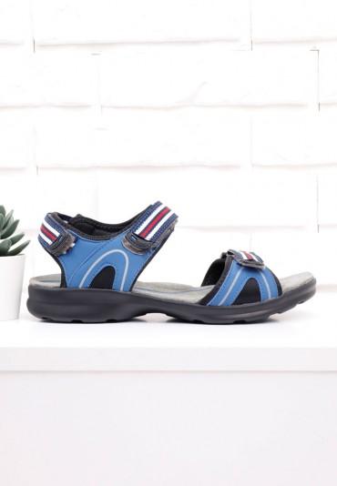 Sandały niebieskie 2 Ricci