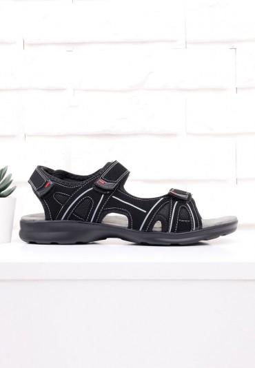 Sandały czarne 1 Povey