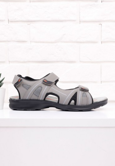 Sandały szare 2 Povey
