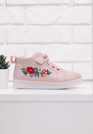 Buty sportowe różowe 2  Brice