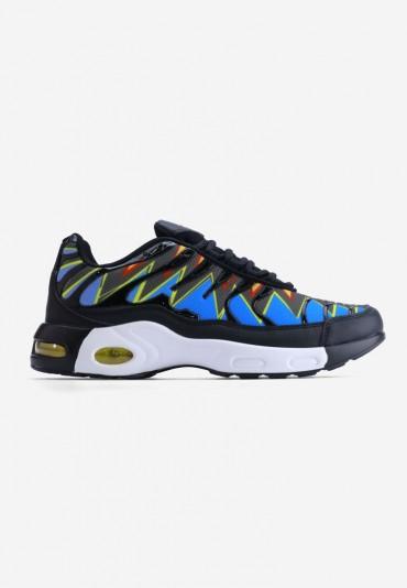 Buty sportowe czarno niebieskie 2 Alard