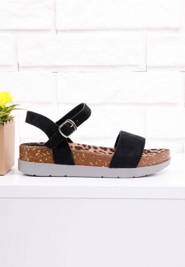 Sandały czarne 1 Eirian
