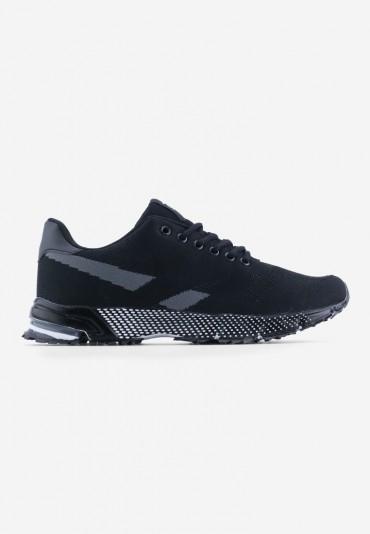Buty sportowe czarne 6 Aloys