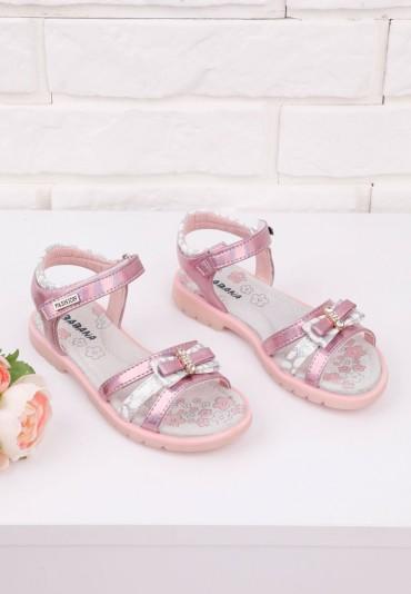 Sandałki różowe 1 Lance
