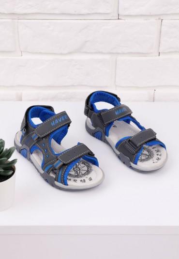 Sandałki szaro niebieskie 1 Kelley