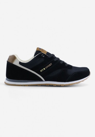 Buty sportowe czarne 4 Gaston