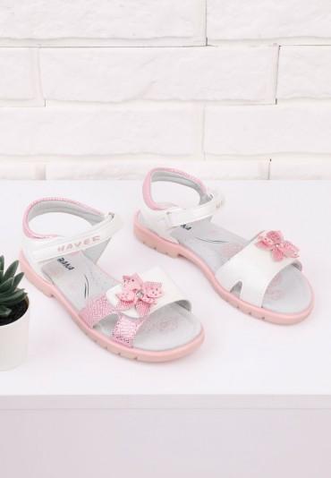 Sandałki różowe 1 Alvarez