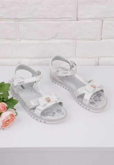 Sandałki srebrne 3 Gina
