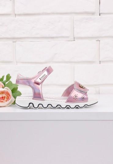 Sandałki różowe1 Ellery