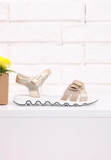 Sandałki złote 3 Burton