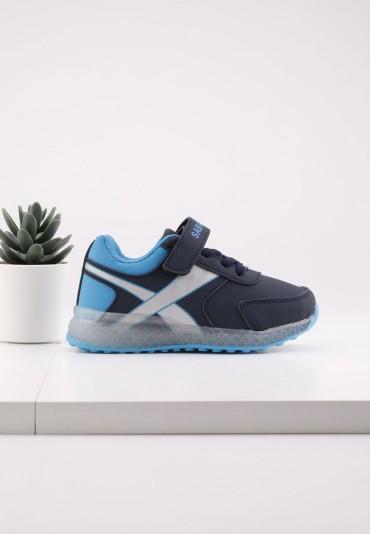 Buty sportowe ganatowo niebieskie 2 Brar
