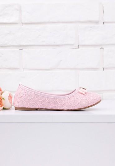 Balerinki różowe 2 Babii