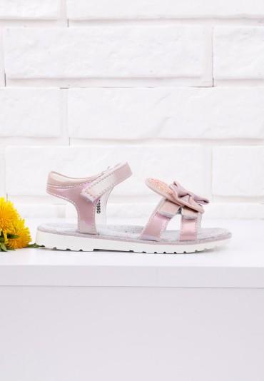 Sandałki dziecięce różowe 1 Lance