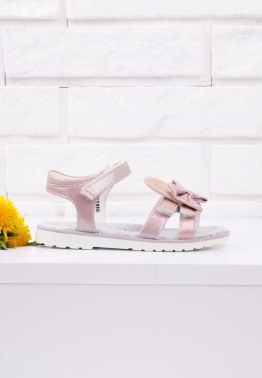 Sandałki dziecięce różowe 1 Garner