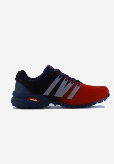 Buty sportowe czerwono granatowe 10 Monette