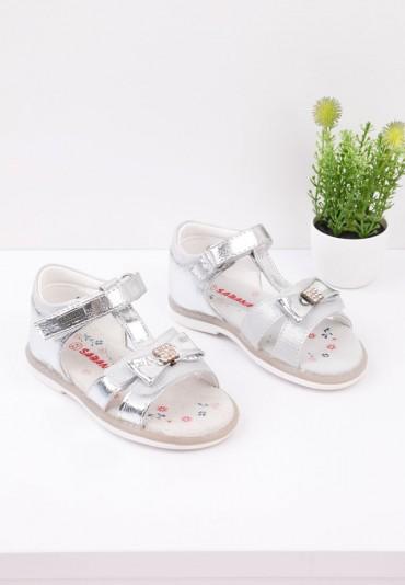 Sandały srebrne 2 Tilda