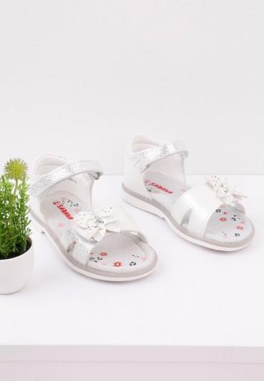 Sandałki białe 3 Ortega