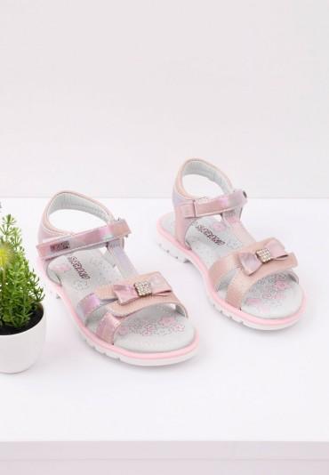 Sandałki różowe 1 Cooke