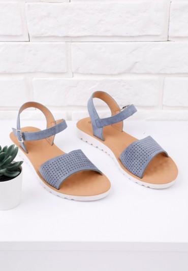 Sandały niebieskie 8 Sarratt