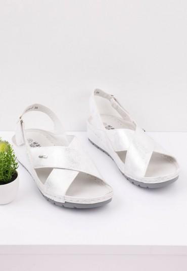 Sandały srebrne 7 Daniel