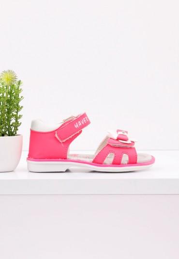 Sandałki różowe 2 Wade