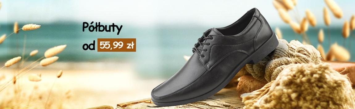Męskie półbuty - Modne, tanie buty YourShoes